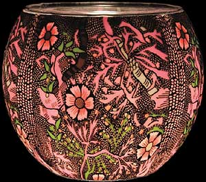 William Morris Glowing Glass