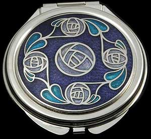 Ring of Roses Compact Mirror