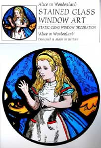 Alice Static Window Cling