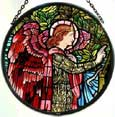 Window Roundel in Angel Gabriel design