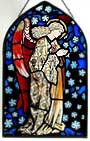 Window Panel in Praying Angel design