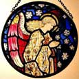 Window Roundel in Praying Angel design