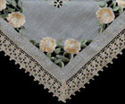 Table Cloth in Antique Golden Rose design