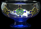 Bowl in Celtic Cross design