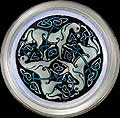 Paperweight in Celtic Horses design