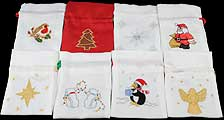 Favour / Small Gift Bags in Magical Christmas Designs
