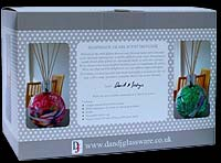 Box for the Friendship Glass Globe Scent Diffuser