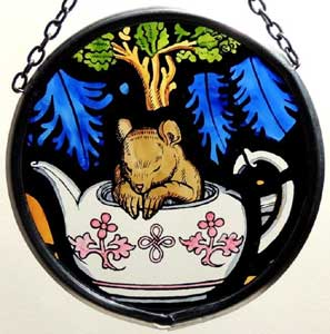 Dormouse Window Roundel