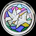 Paperweight in Doves of Peace design