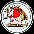 Fat Robin Paperweight in Robin design
