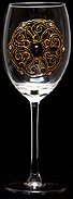 Goblet in Queen Guinevere design