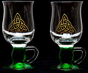 Pair of Irish Coffee Glasses