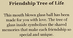 Label for Friendship Tree of Life