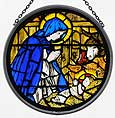Window Roundel in Madonna and Child design