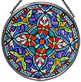 Window Roundel in Ornate Quatrefoil design