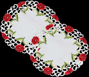 Pair of Small Doilies