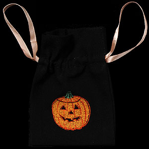Pumpkin Small Gift Bag with Lavender
