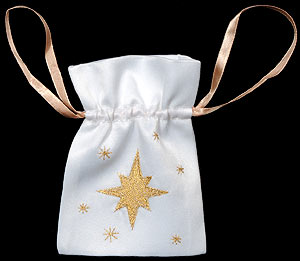 Star Small Gift Bag with Lavender