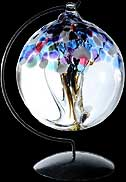 Winter Tree of Life Large Glass Friendship Ball