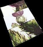 Tea Towel in Flower of Scotland design
