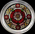Paperweight in Medieval Tudor Rose design